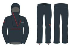1786 Project Ultra Lightweight Rain jacket and pants