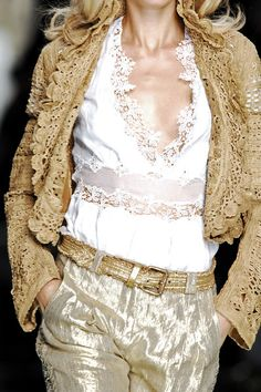 whatchathinkaboutthat:    Ermanno Scervino Spring 2007 Details