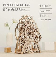 Mechanical Pendulum Clock Kit