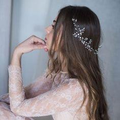 Tocados de cristal y metal archivos - hip&love Ear, Crown, Imagines, Jewelry, Weddings, Fashion, Templates, Boyfriends, Wedding