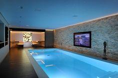 Kung saunas installs - Contemporary - Pool - London - Prestige Saunas Ltd
