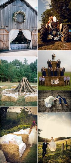 country rustic farm wedding ideas #rusticwedding #countrywedding #farmwedding #weddingdecor