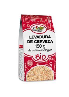 Levadura-De-Cerveza-Bio-150-G Ingredientes: copos de levadura de cerveza*. Puede contener trazas degluten, soja, sésamo y frutos secos. (*)=De cultivo ecológico. Análisis Nutricional por 100 g: Valor Energético: 249 Kcal/1040 Kj Proteínas: 33 g H. de carbono: 20 g Grasas: 1 g