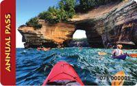 2015 Annual pass has photo of kayaker