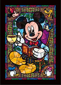 DIY Diamond painting Mickey Mouse Cartoon Mosaic Cross Stitch Full Square Drill Diamond Painting kit Sticker Home Decoration Kids Walt Disney, Disney Magic, Disney Art, Disney Pixar, Disney Characters, Disney Princesses, Arte Do Mickey Mouse, Mickey Mouse Cartoon, Mickey Mouse And Friends