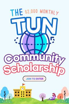 Join the TUN community at your school to enter! $2,000 randomly awarded each month / instant access to millions of dollars in scholarships curated for your community! Scholarships For College, College Students, High School, University, Community, Learning, Calm, Instant Access, Join