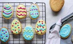 Easter egg cookies recipe Kidspot, Gluten Free Easter: Vanilla Sugar Cookies with Royal Icing – Titchy Ton Bakes, Vanilla Bean Brown Sugar . No Egg Cookie Recipe, No Egg Cookies, Easter Cookies, Royal Icing Cookies, Easter Treats, Egg Biscuits, Iced Biscuits, Baking Recipes, Cookie Recipes