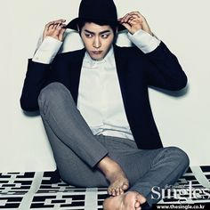 Hong Jong Hyun - Singles Magazine March Issue '14