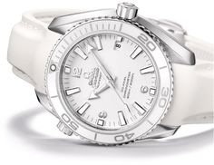 This is a nice matching ladies Omega in white for the wife!!