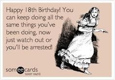 Funny 18th Birthday Wishes | Kappit