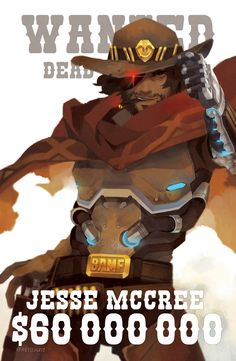 McCree Poster by freichou