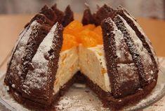 Mandarínková torta Kilimandžáro - Recept som našla na internete, veľmi sa mi… Sweet Desserts, Sweet Recipes, Cake Recipes, Czech Recipes, Russian Recipes, Biscotti Cookies, Cake Cookies, Amazing Cakes, Nutella