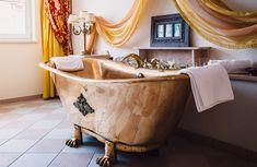 Bio Sauna, Clawfoot Bathtub, Wellness, Steam Bath