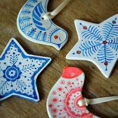 handmade-clay-christmas-decorations by Superduper