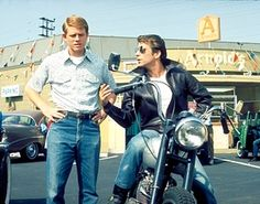 Happy Days | The Guardian: Triumph motorcycles at the movies - in pictures
