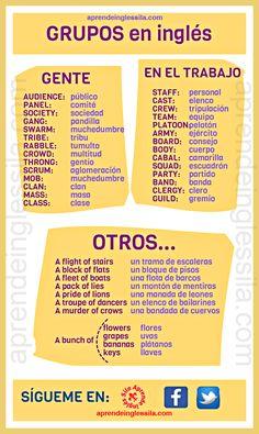 Grupos en English