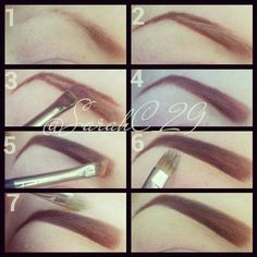 Sarah Chambers makeup  eyebrows