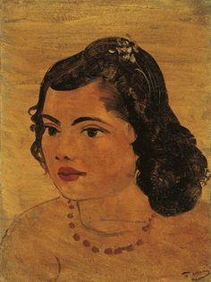 André Derain, Portrait de femme au collier