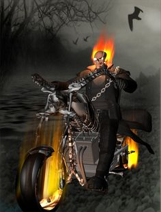 Ghost Rider by OneArmBandit on deviantART