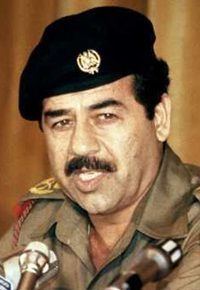 Sadam Hussein. Hung in 2006 for charges of crimes against humanity. Death toll: lowest estimate is 250,000.