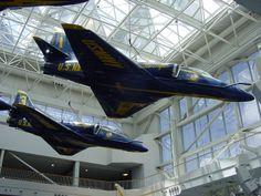 BLUE ANGELS......A-4 SKYHAWK Naval Air Museum, Pensacola, Fl