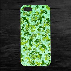 Leafy Green Natural Pattern iPhone4 and iPhone5 Case by theminifab, $11.00