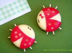 Cute Food For Kids?: Babybel Cheese Ladybug