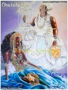 Yemaya & Obatala