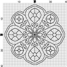 Free Biscornu Cross Stitch Patterns | One pinner stated:  Beads? Sequins? Specialty stitches?