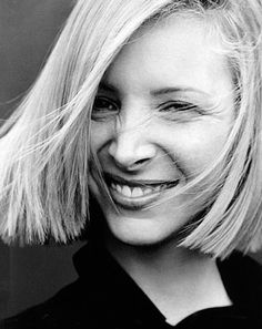 Lisa Kudrow. Love her hair