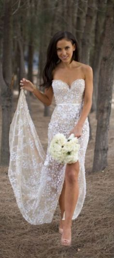 Sexy wedding dresses,lace wedding dresses,wedding dress 2016,see though wedding dresses,wedding dresses with split