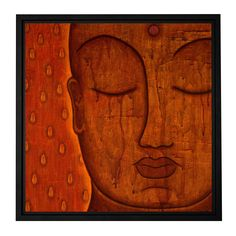 'Awakened Mind' by Gloria Rothrock Framed Painting Print on Wrapped Canvas