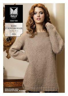 Bilderesultat for strikkegenser dame oppskrift