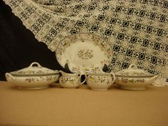 Nippon China Vintage Serving Set 5 Pieces by AtticFanaticUS on Etsy
