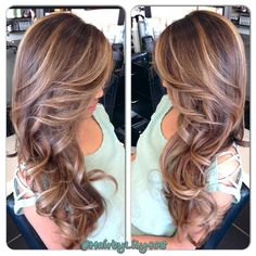 Trendy Hair Highlights : Ombré with balayage! Love Hair, Great Hair, Gorgeous Hair, Cabelo Ombre Hair, Balayage Hair, Haircolor, Balayage Color, Bayalage, Hair Color And Cut