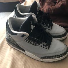 4ddacdd4a Jordan Shoes | Jordan Cement 3s | Color: Black/Gray | Size: 8.5
