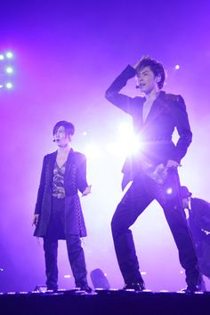 The Moment: TOHOSHINKI 2012 Live Tour ~Tone~ in Japan.  #tvxq #yunho #changmin