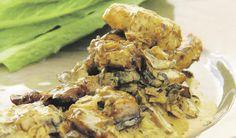Resep: Romerige varkfilet met sampioene   Netwerk24.com Pork Fillet, South African Recipes, Dessert Recipes, Desserts, Lchf, Kos, Shrimp, Meat, Chicken