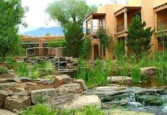 El Monte Sagrado in Taos NM.  We were married in the Sacred Circle.