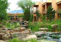 El Monte Sagrado in Taos NM.  We were married in the Sacred Circle.