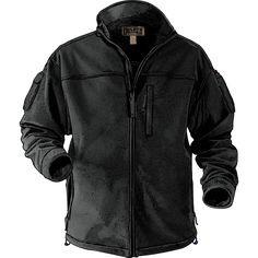 Windproof Fleece Jacket.  $80  --   Built with a windproof, waterproof yet breathable membrane. Keeps you warm between 15°F to 30°F.