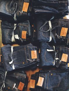 Brave Star Selvage, available @ stuf|f