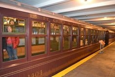 BRT Brooklyn Union Elevated Car (1904-1905).Транспортный музей Нью-Йорка (New York Transit Museum, NYC)