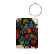 Rainbow Grapes Keychains