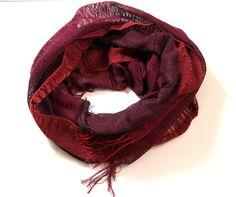 Anne handwoven cotton scarf