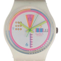 Swatch Geoglo GW403 - 1989 Spring Summer Collection