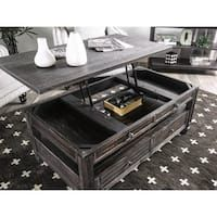 Farmhouse Lift Top Coffee Table.Furniture Of America Vance Rustic Farmhouse Lift Top Coffee Table