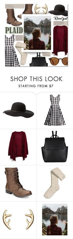 """ROSEGAL Contest"" by mfardilha ❤ liked on Polyvore featuring Charlotte Russe, MANGO, John Lewis, American Rag Cie, H&M, Urban Renewal and Ray-Ban"