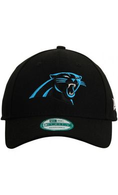 NFL Men s Carolina  Panthers New Era Black Structured 9FORTY Adjustable  Hat   sports   21c565979ab