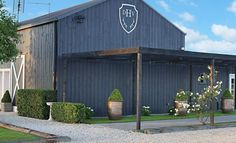 Image result for blue american barn stables shed